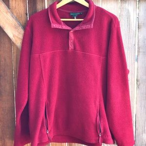 Vintage L.L Bean Fleece Pullover
